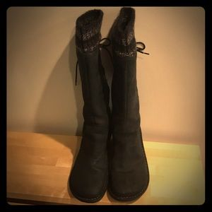 Ugg Wedge Winter Boots